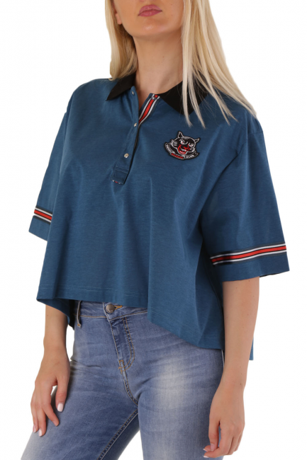 T-Shirt Donna Diesel Blu 00SX2C0GAVH