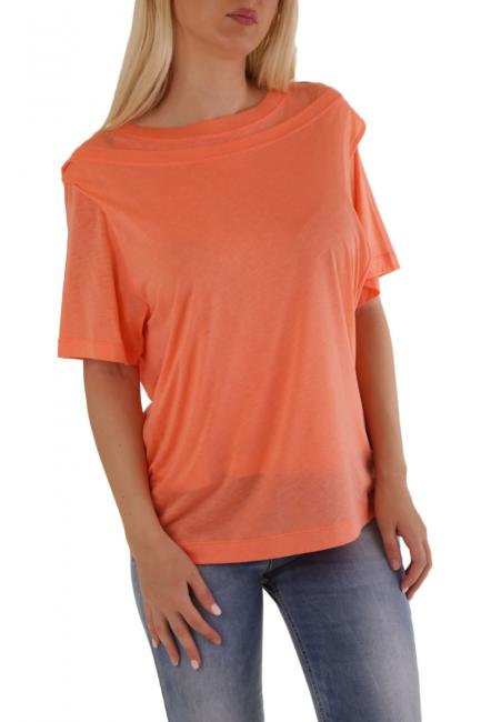 T-Shirt Donna Diesel Arancione A009680KIKA