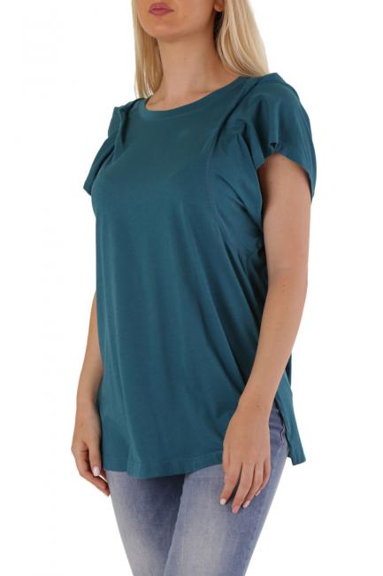 T-Shirt Donna Diesel Blu 00S45I0BAQY