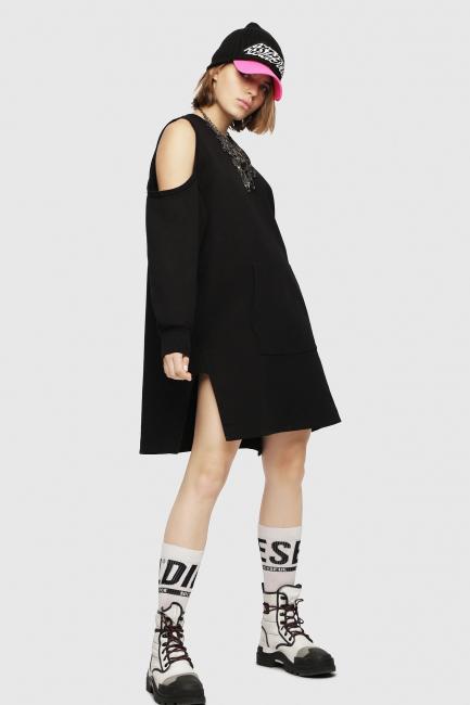 Women's Dress Diesel Black 00SM7D0JASE