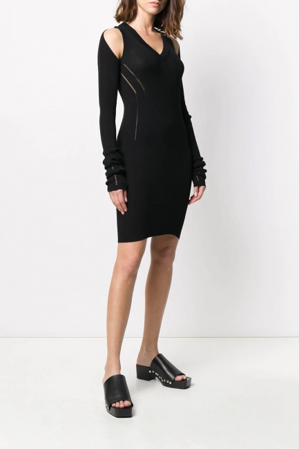 Women's Dress Diesel Black 00SHF90WAWU