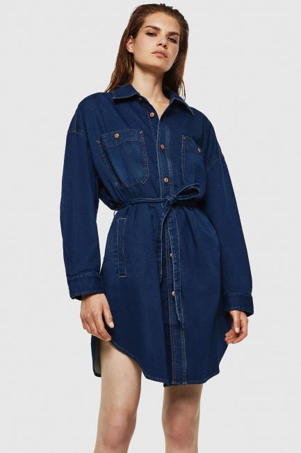 Women's Dress Diesel Blue 00SZAF069IG