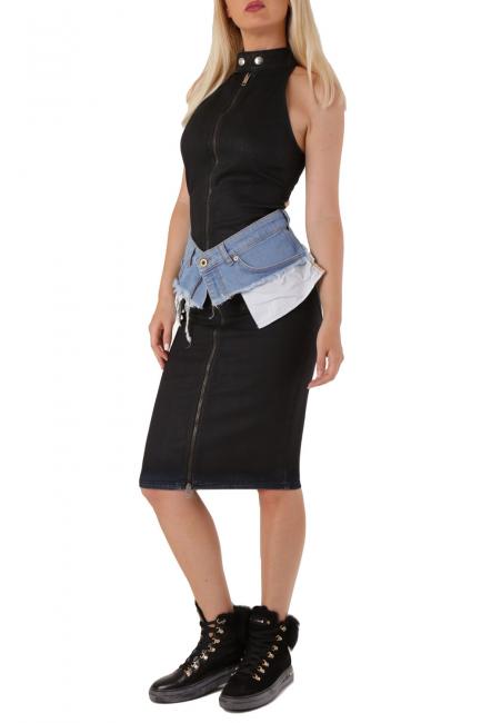 Women's Dress Diesel Black 00SXC90PAVV