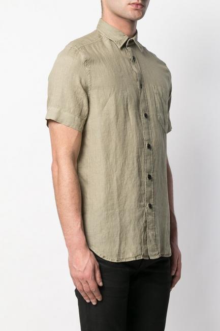 Men's Shirt Diesel Army Green 00SQUX0EAVG