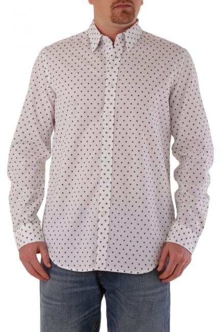 Men's Shirt Diesel White 00SH1E0IASG