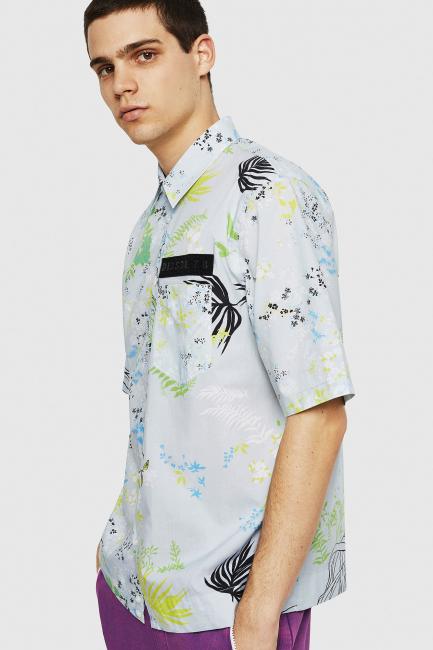 Men's Shirt Diesel Multicolor 00SQU40GAUG