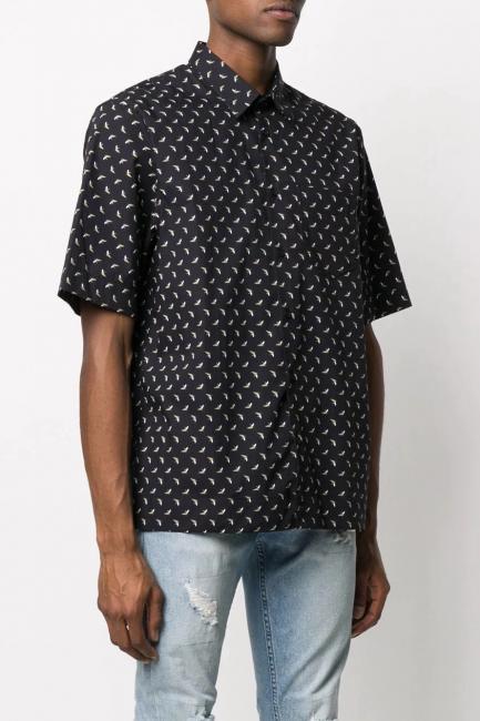 Men's Shirt Diesel Black 00SGR20HAXH