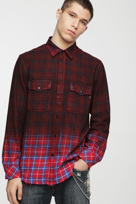 Men's Shirt Diesel Red 00SIJ90DATY