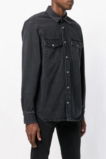 Men's Shirt Diesel Black 00SLK00LATD
