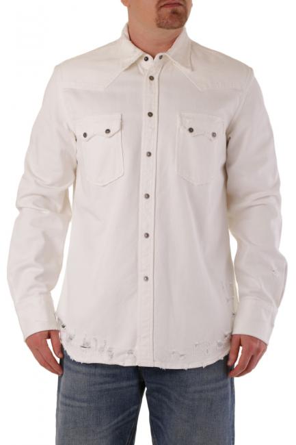 Men's Shirt Diesel White 00SSWNRDARK