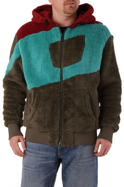 Men's Sweatshirt Diesel Green A004910EAZR