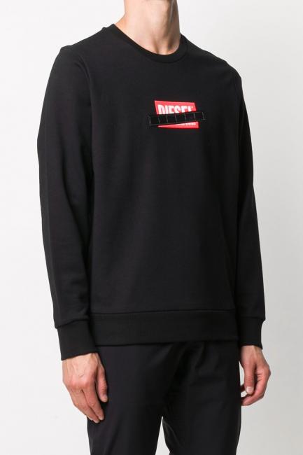 Men's Sweatshirt Diesel Black 00SEF40KAXU