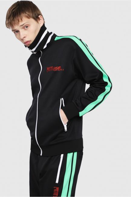 Men's Sweatshirt Diesel Black 00SSLA0KATU
