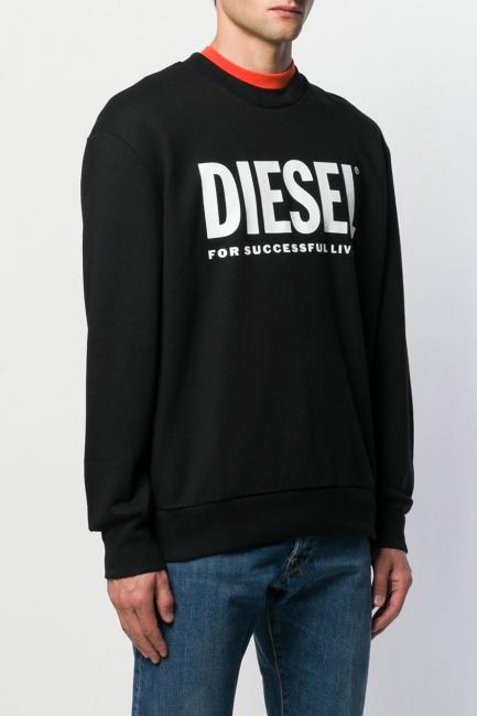 Men's Sweatshirt Diesel Black 00SY5T0BAWT