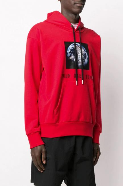 Men's Sweatshirt Diesel Red 00SATS0IAJH