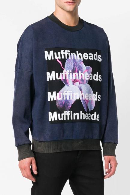 Men's Sweatshirt Diesel Blue 00SIGS0PAQG
