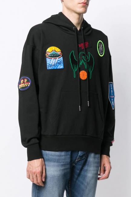 Men's Sweatshirt Diesel Black 00SV3P0AASF