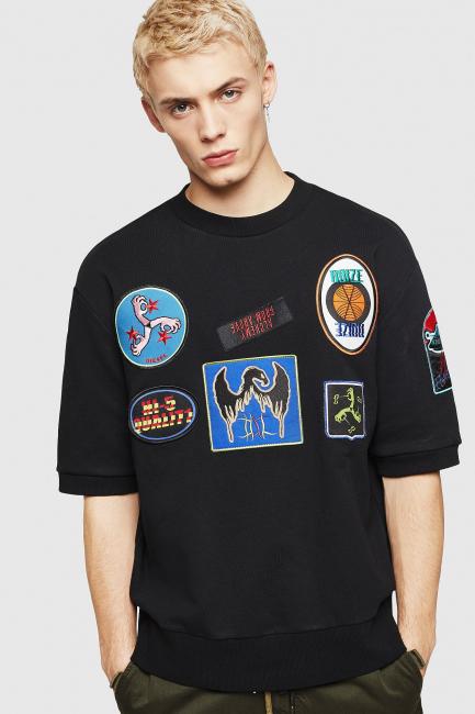 Men's Sweatshirt Diesel Black 00SY880AASF
