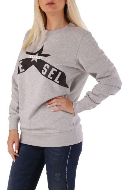 Women's Sweatshirt Diesel Grey 00SWD40IAJH