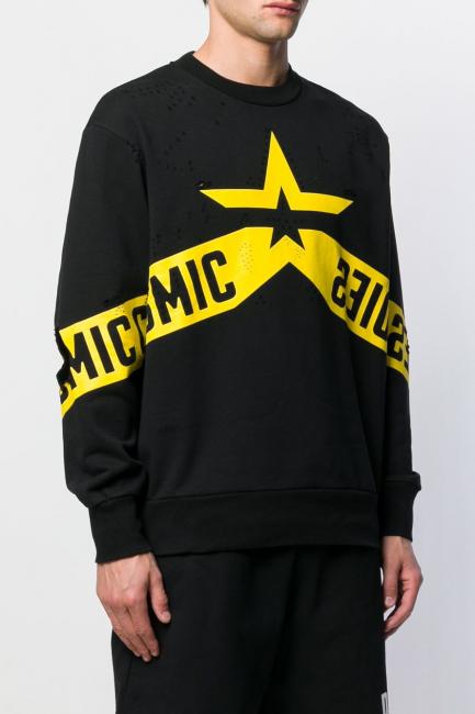 Men's Sweatshirt Diesel Black 00SY780BAWJ