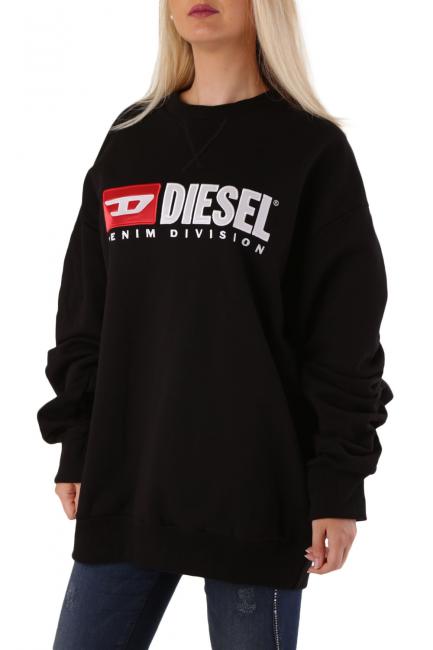 Women's Sweatshirt Diesel Black 00SIGS0PAQG