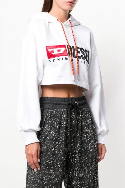 Women's Sweatshirt Diesel White 00SM830CATK