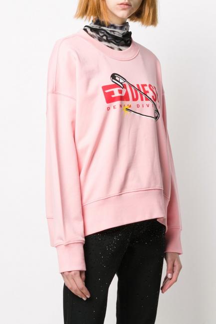 Women's Sweatshirt Diesel Pink 00S78P0IAJH