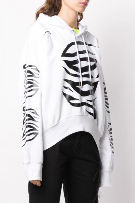 Women's Sweatshirt Diesel White 00S4DM0IAJH