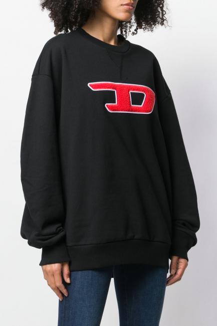 Women's Sweatshirt Diesel Black 00SX3C0IAJH