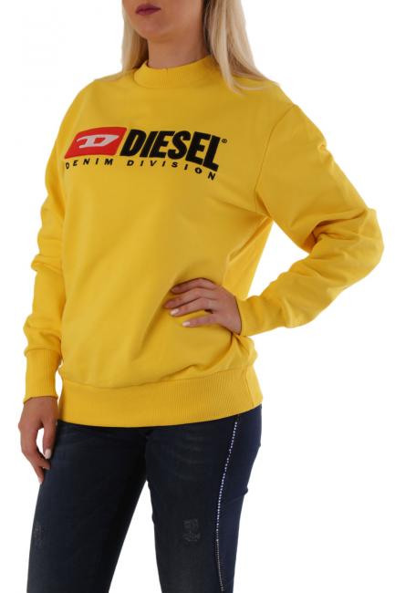 Women's Sweatshirt Diesel Yellow 00SJGD0CATK