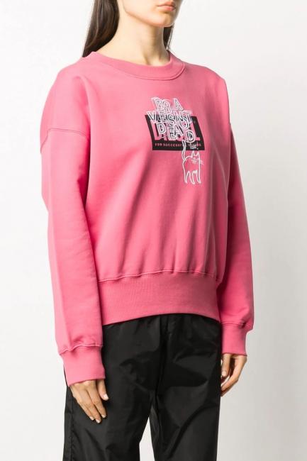 Women's Sweatshirt Diesel Pink A002640IAJH