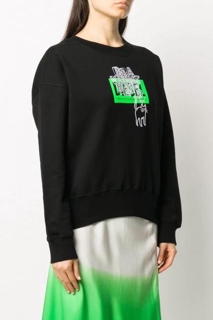 Women's Sweatshirt Diesel Black A002640IAJH