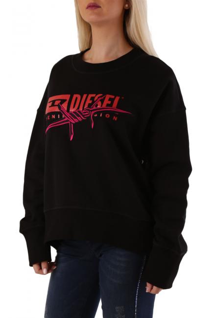 Women's Sweatshirt Diesel Black 00SADV0IAJH