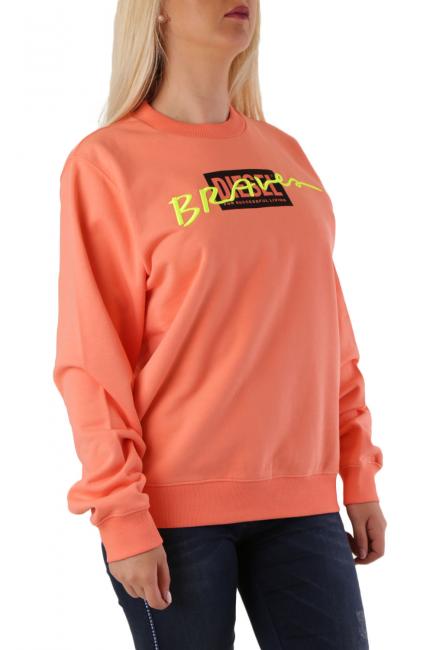 Women's Sweatshirt Diesel Orange A009600IAJH