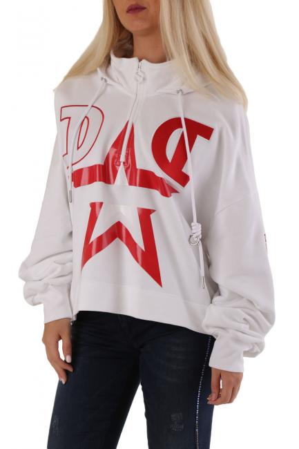 Women's Sweatshirt Diesel White 00SEF60KAXU