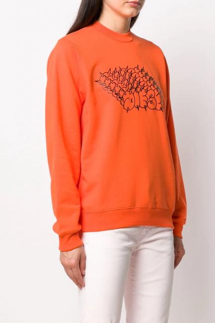 Women's Sweatshirt Diesel Orange 00SEN60IAJH