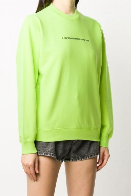 Women's Sweatshirt Diesel Green 00S77G0IAJH