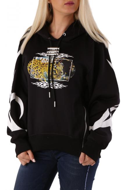 Women's Sweatshirt Diesel Black A006880BBAS
