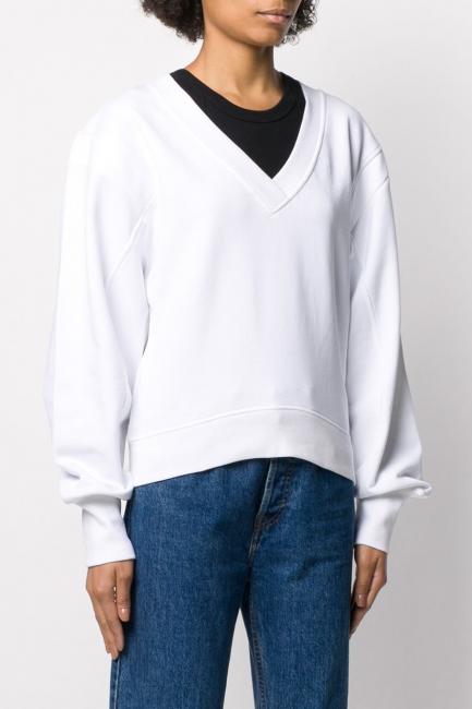 Women's Sweatshirt Diesel White 00SF4R0IAJH