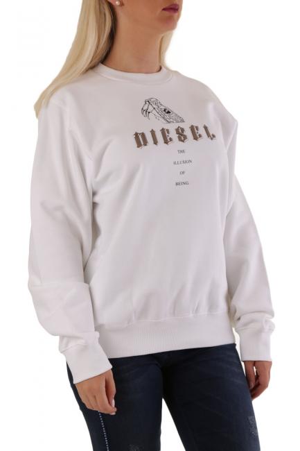 Women's Sweatshirt Diesel White A008460IAJH