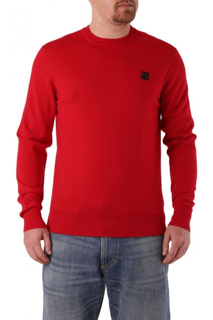 Men's Sweater Diesel Red 00SAUM0LAXX