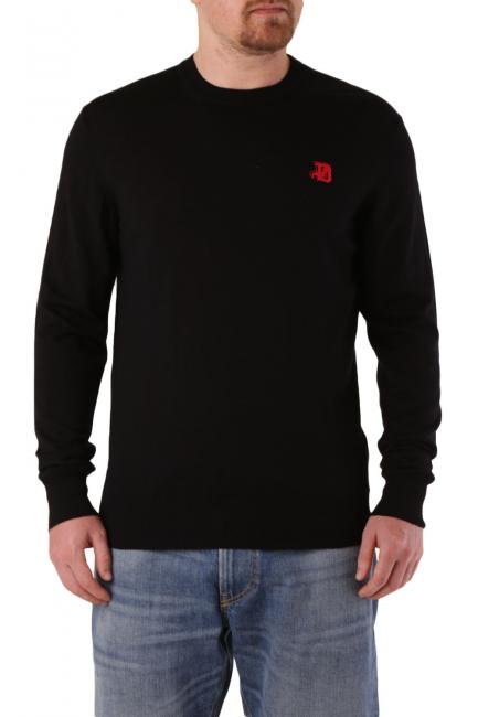 Men's Sweater Diesel Black 00SAUM0LAXX