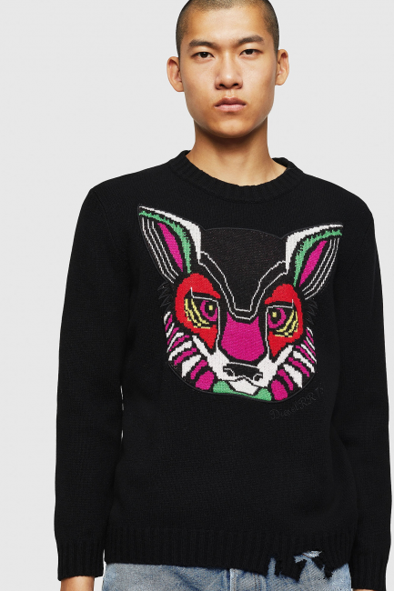 Men's Sweater Diesel Black 00SYTL0PAWV