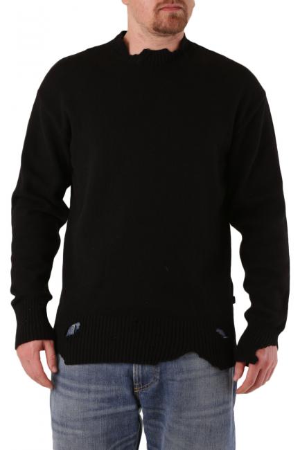Men's Sweater Diesel Black 00SIHK0LAST