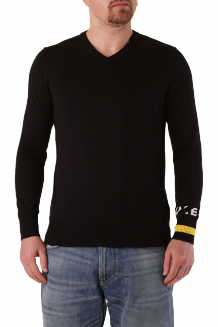 Men's Sweater Diesel Black 00S9SQ0DARR