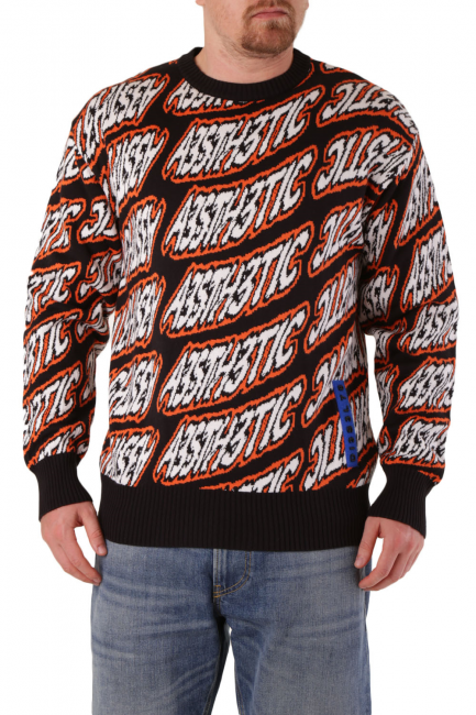 Men's Sweater Diesel Black 00SNKT0LAUR