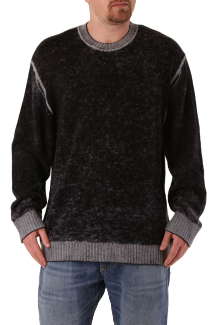 Men's Sweater Diesel Black 00SZ2I0JAUY