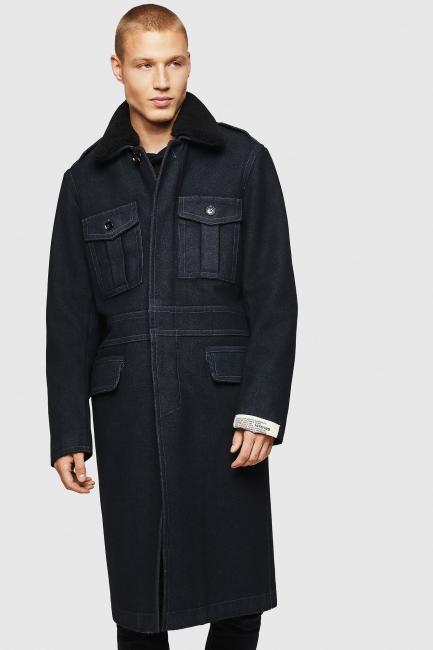 Men's Coat Diesel Blue 00SWEL0EAXB