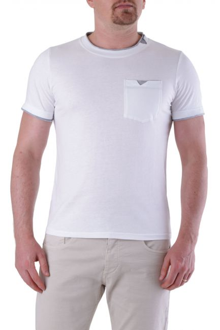 T-shirt Absolut Joy Man P936012 White