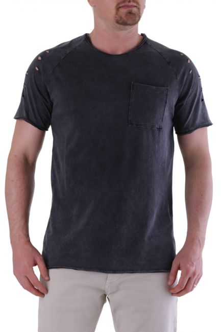 T-shirt Absolut Joy Man P936037 Black